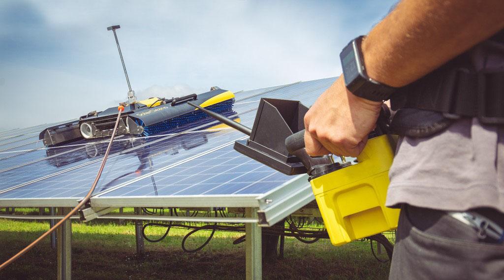Fény visszaverődés – szennyezettség csökkentés napelem modulokon