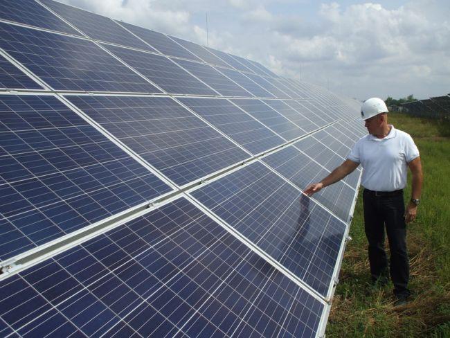 Átadás előtt a felsőzsolcai naperőmű-beruházás