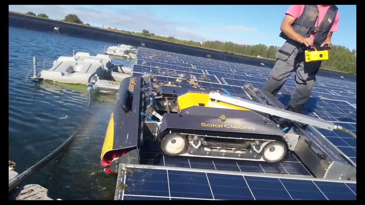 ÚJ- SolarCleano takarító robot kamera